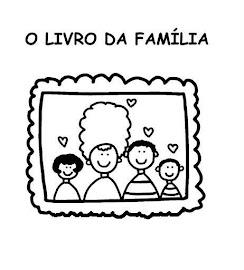 desenhos para colorir família