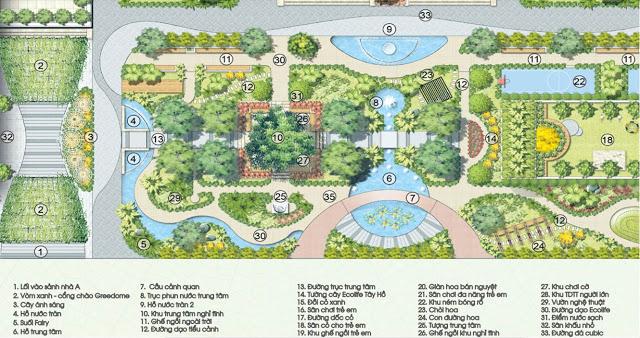 Tiện ích tại dự án Ecolife Tây Hồ