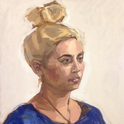 Portrait of a Woman by Matt Waruszynski