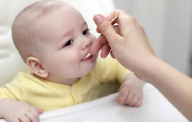 Bebeklerde beslenme şekli