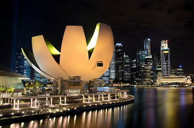 Art Science Museum Marina Bay Sands Singapura