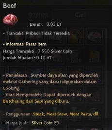 Salah Satu Meat BDO