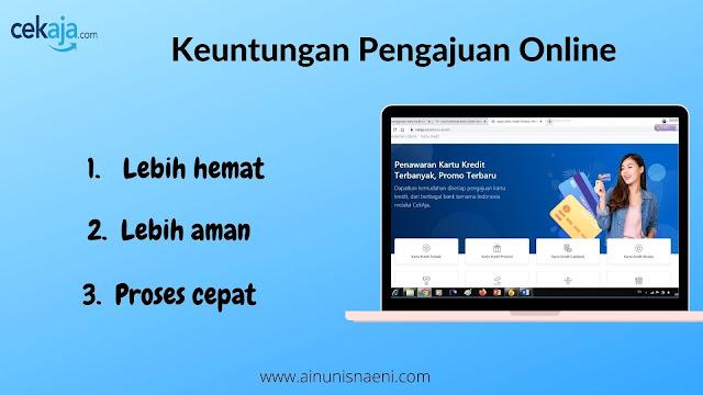 keuntungan kartu kredit online