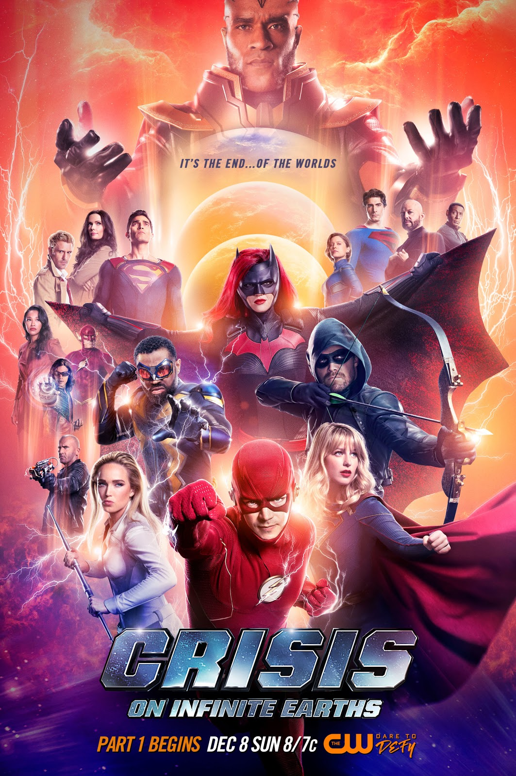 official Crisis on Infinite Earths crossover poster