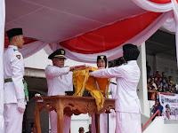 Nanang Ermanto Pimpin Upacara HUT RI Ke- 74