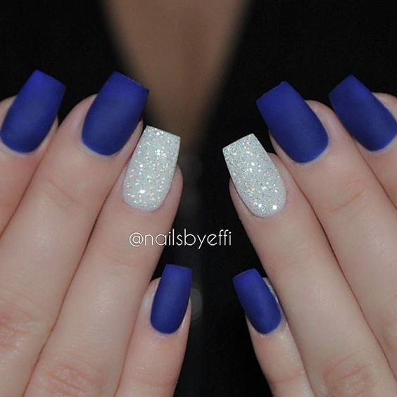 Want a grunge look get Matte Nail Polish for your nails. See more great Matte  Polish Designs. - Geeks Fashion: Matte Nail Polish Designs That Will Wow You