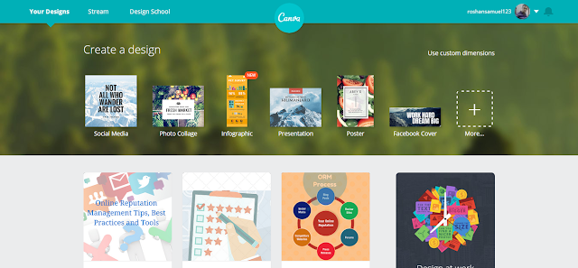 Canva - Free Marketing Tool