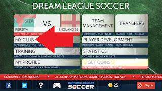 Cara ganti baju di Dream League Soccer