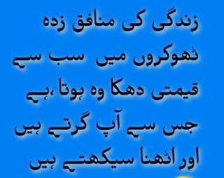 Sad Quotes in urdu
