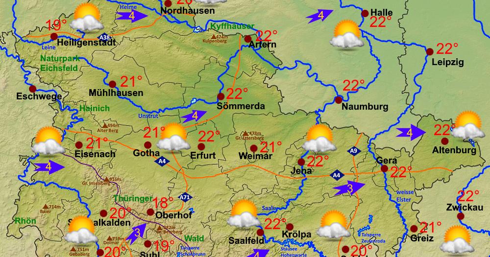Wettervorhersage Für Saalfeld