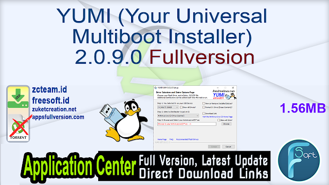 YUMI (Your Universal Multiboot Installer) 2.0.9.0 Fullversion