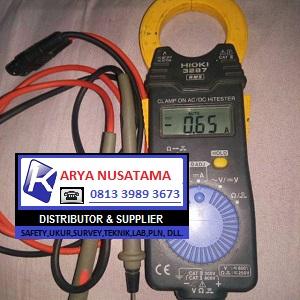 Jual Clamp tester Hioki 3287 Multi histeter di Medan
