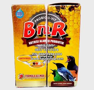 ProbioVit BNR adalah Multivitamin perpaduan dari semua vitamin yang pernah dikeluarkan oleh BnR termasuk BnR VIT. Karena itu Probiovit selalu disebut satu botol untuk sejuta manfaat bagi burung.