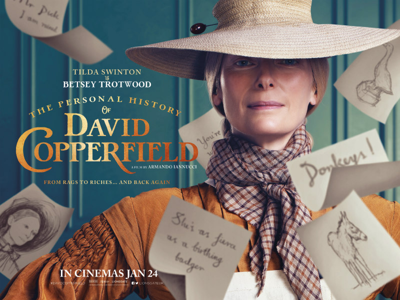 The Personal History of David Copperfield poster tilda swinton