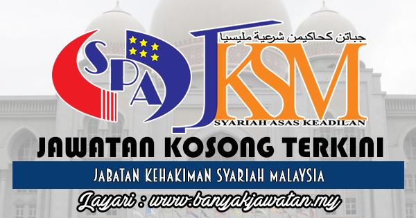 Jawatan Kosong 2017 di Jabatan Kehakiman Syariah Malaysi