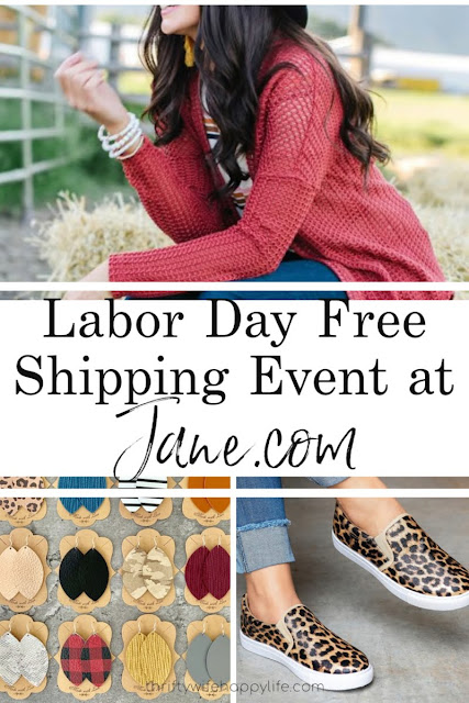Labor Day Free Shipping Event at Jane.com