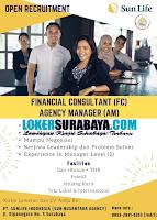 Lowongan Kerja Surabaya di PT. Sunlife Indonesia (Sun Nusantara Agency) Januari 2020