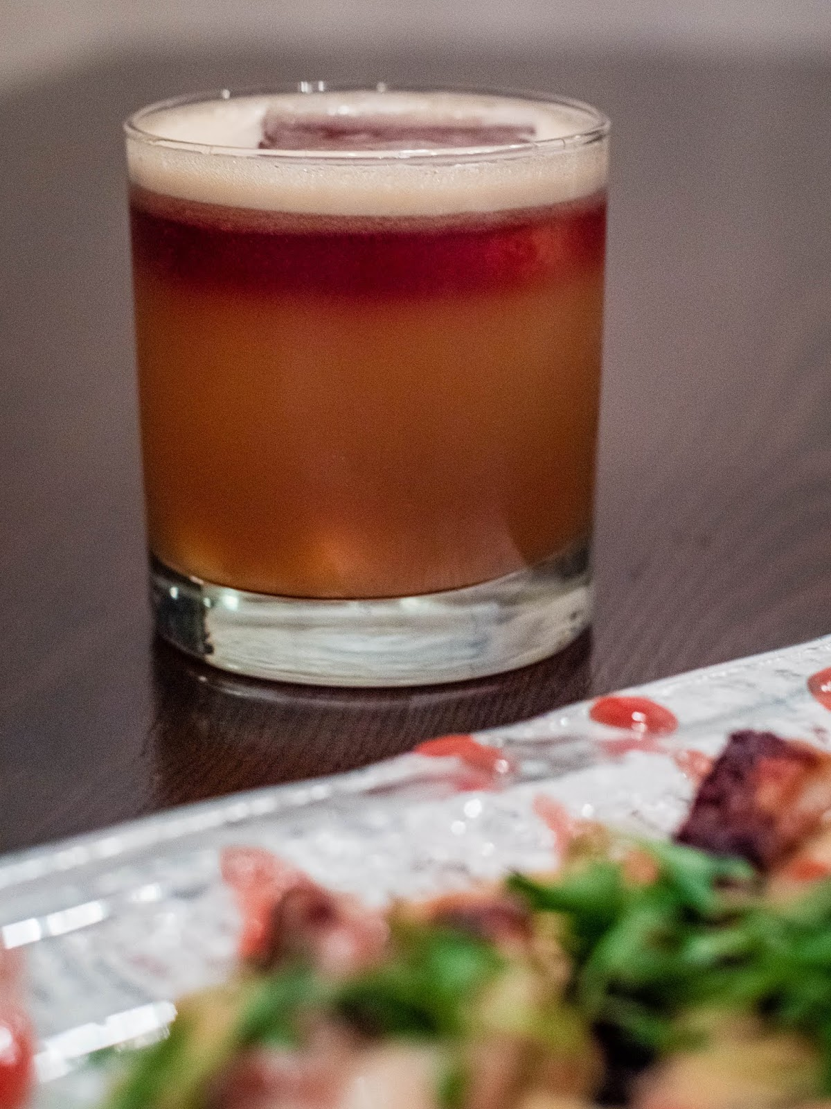 Blood NY cocktail at Mezon | Local Food Rocks