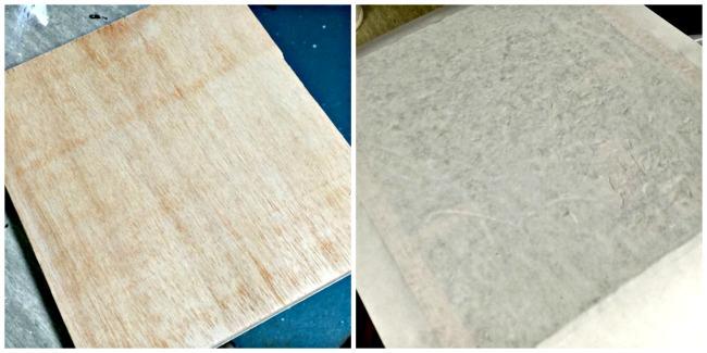 photo transfer method on wood.