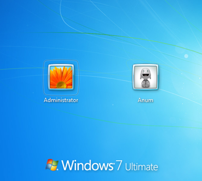 windows 7 admin