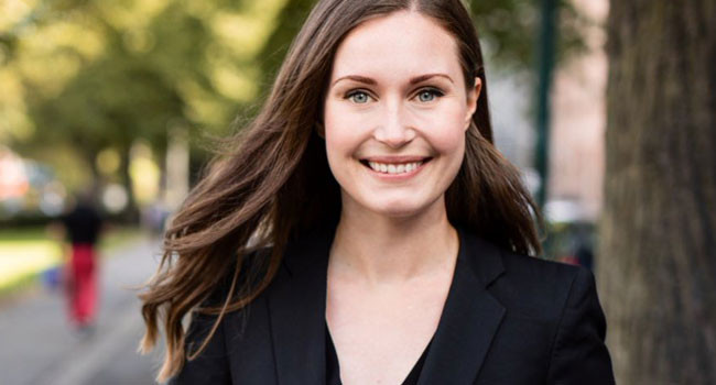 Finland's 34-year-old Sanna Marin becomes world's youngest Prime Minister ever