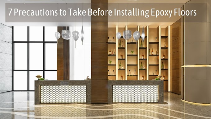 7 Precautions to Take Before Installing Epoxy Floors