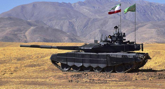 Tank tempur utama Karrar Iran