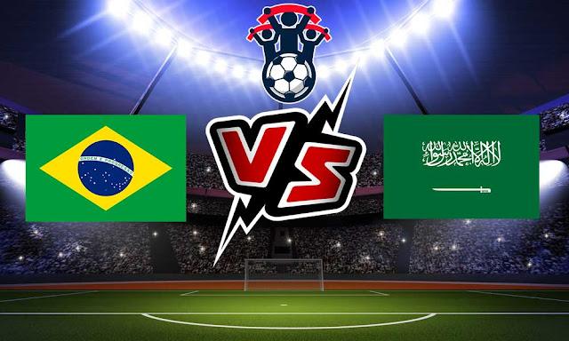 السعودية والبرازيل بث مباشر