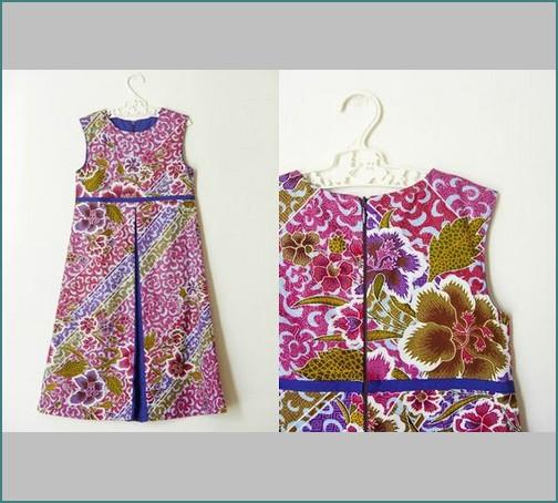 Baju Batik Guru Perempuan: Model Baju Batik Anak Perempuan Terbaru Foto Dan Gambar