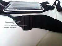 Marsupio AUKEY porta smartphone: impermeabile comodo leggero