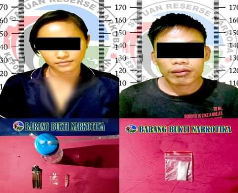 Diduga Pengedar Narkotika, 2 Otang Pelaku Diamankan Polres Way Kanan