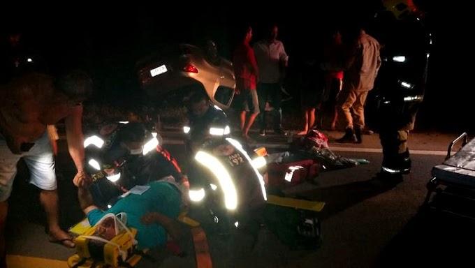 MARVADA PINGA; Motorista embriagado causa acidente e deixa 5 feridos graves na BR 364