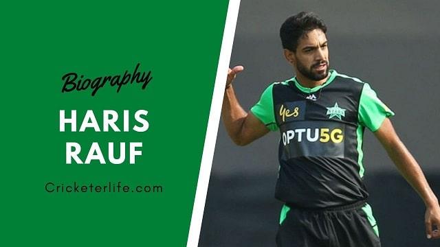 Haris Rauf bowling, biography, age, height, batting, wife, etc.