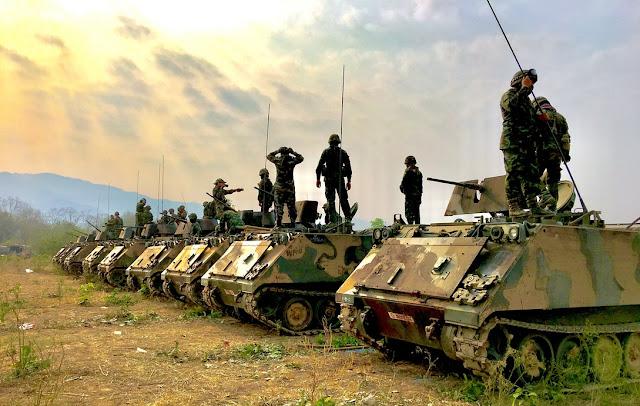 Napad neprijatelja tenkovi