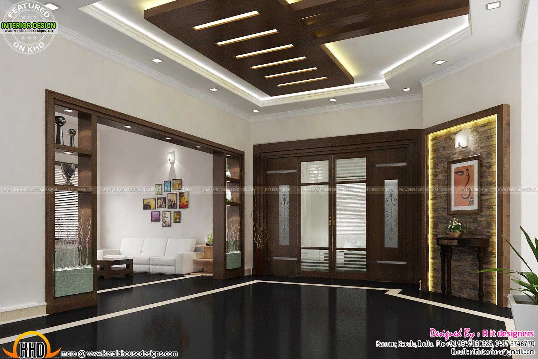 Under Stair design, wooden stair, kitchen and living ...