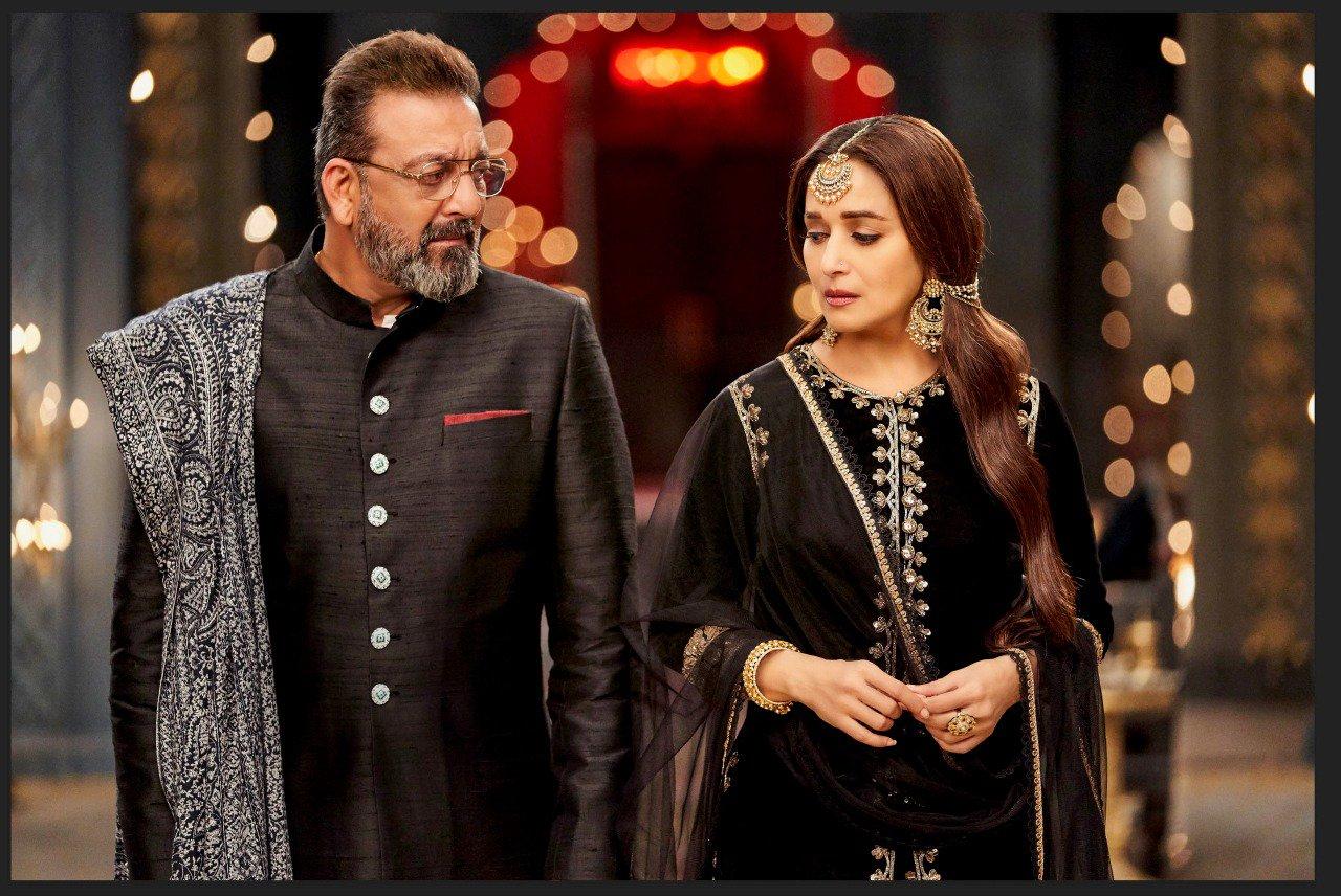 Sanjay Dutt & Madhuri Dixit