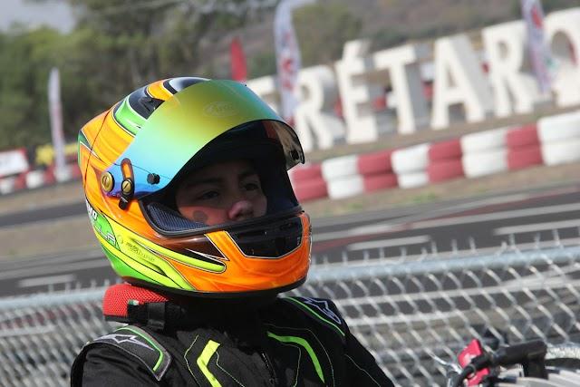 Donovan impone condiciones en Fórmula Karts