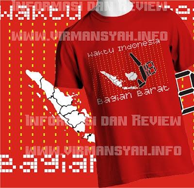 T-Shirt WIB (Waktu Indonesia Barat)