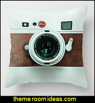 Retro brown leather Vintage camera Throw Pillow  Hipster decorating style - hipster decor - Hipster wall art - Hipster room decor - Hipster bedding - urban decor - retro decor - vintage cool decor - Steampunk - hipster bedroom ideas - Hipster home decor -   Hipster gifts - Marquee signs - hipster style quirky fun decor - hipster bedroom decorating ideas - hipster room ideas for guys - Hipster bedroom wall decor -  hipster decorative pillows
