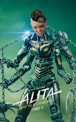 Alita Battle Angel Rosa Salazar Movie Poster 12