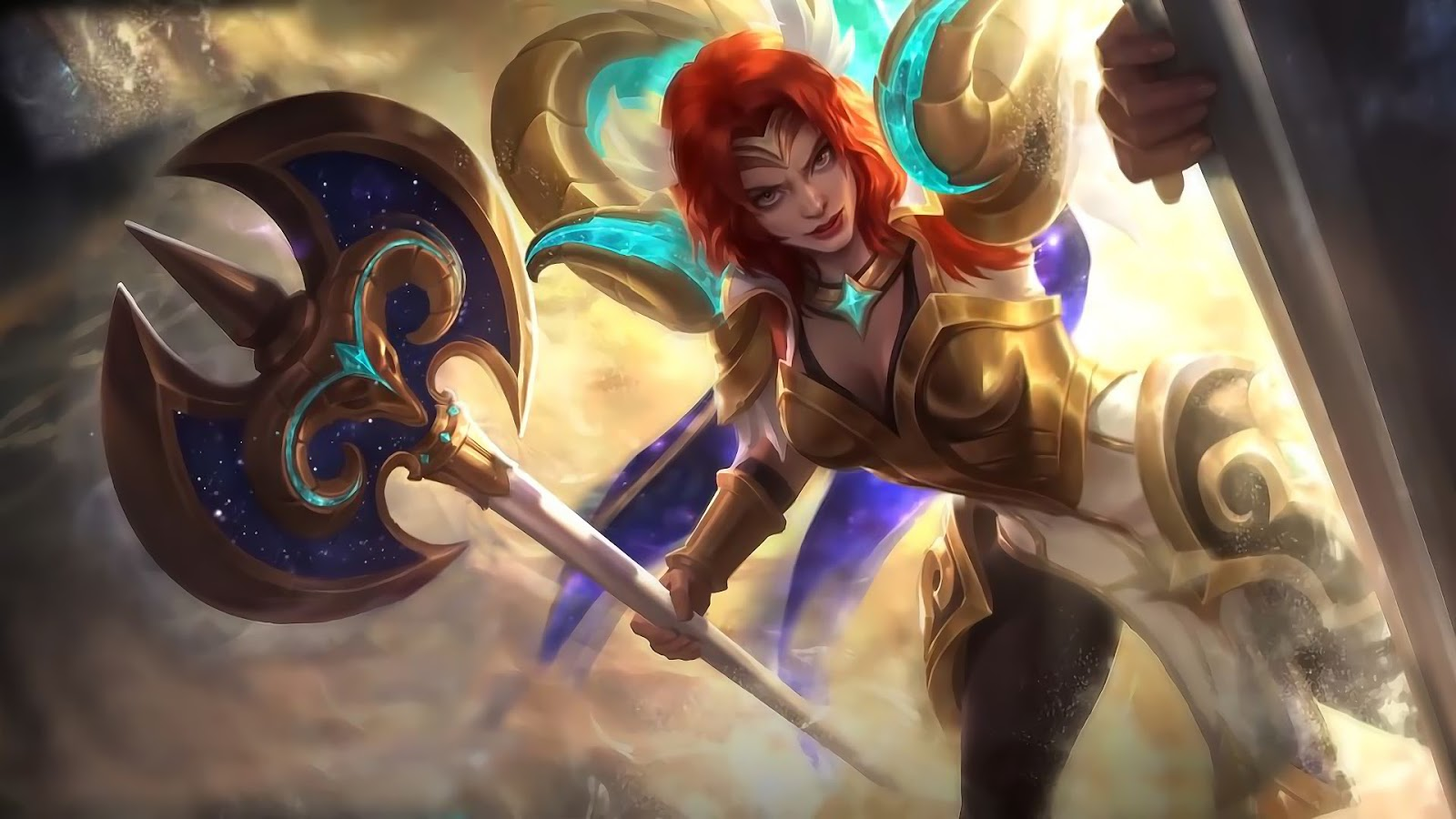 Wallpaper Hilda Aries Skin Mobile Legends HD for PC