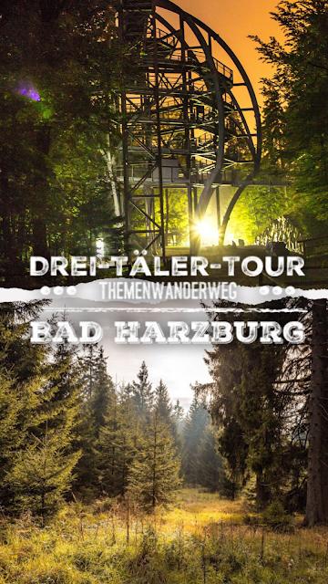 Drei-Täler-Tour  Themenwanderweg Bad Harzburg  Wandern im Harz  Baumwipfelpfad - Radauwasserfall - Eckertalsperre 22