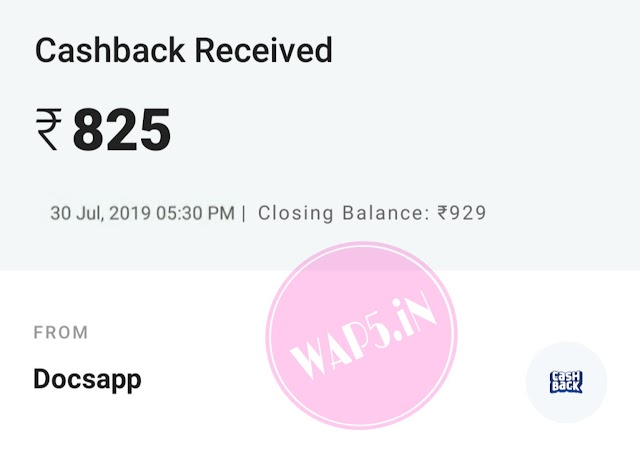 [New Proof Added] DocsApp Loot - Get Rs. 70 On Sign Up + Upto Rs.100 Paytm CashPer Refer [Earn Unlimited]