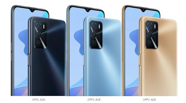 سعر هاتف Oppo A16 والألوان المرتقبة