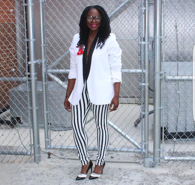 a089359da Look Book  Tuxedo and Stripes in Black and White