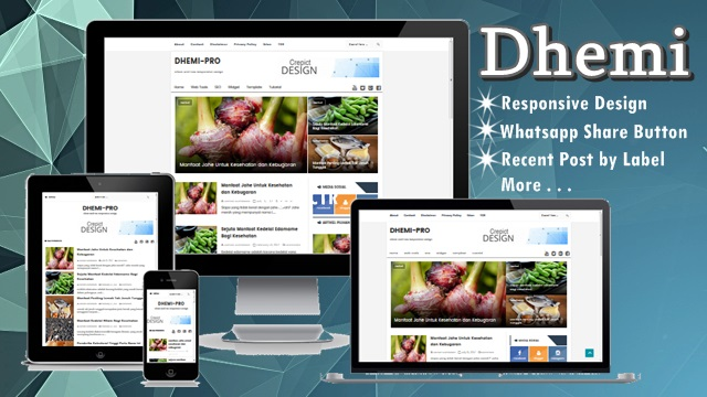 Dhemi Template Premium 2017