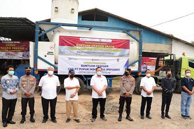 Ini Syarat Oksigen Gratis dari Polda Lampung