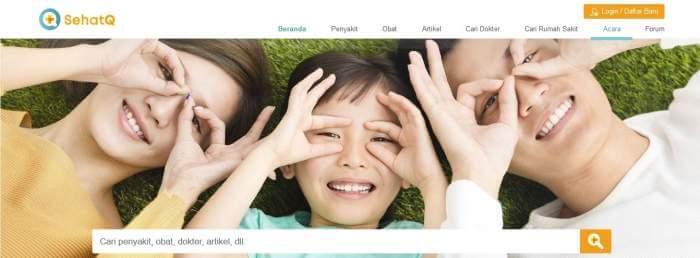 Mengenal Portal Sehatq.com