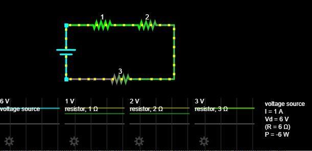 series resistors voltage