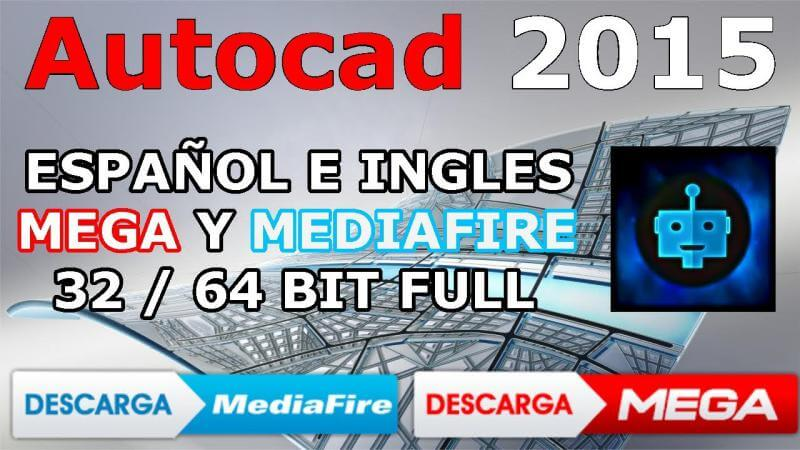 Descargar autocad 2015 mega mediafire tutorial